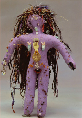 Power Doll - Lynn Dewart: Spirit doll :  doll sculpture handcrafted voodoo